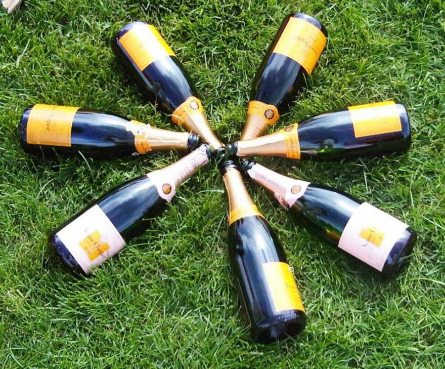 The Polo Classic is sponsored by Vueve Cliquot Champagne.