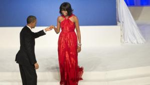 The First Couple at the Commander-in-Chief's Ball (Photo Courtesy of Getty Images)