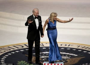 Jill Biden in Vera Wang (Photo Courtesy of Getty Images)