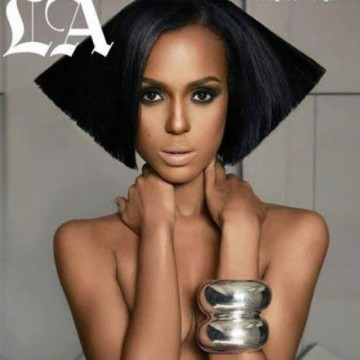Kerry Washington on the cover of LA Times Magazine. (courtesy of the LA Times)